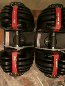 Bowflex SelectTech 552 Adjustable dumbbells  dumbbell pair set NEW