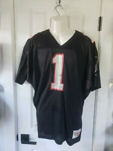 Vintage Falcons Jeff George Jersey By Wilson 2XL
