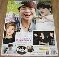 ASTA TV EXO INFINITE LEE MIN HO B1A4 f(x) GOT7 K-STAR MAGAZINE 2014 AUG AUGUST