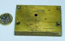 OLD ANTIQUE BRASS DRAWER/CUPBOARD LOCK FURNITURE EDWARDIAN/VICTORIAN