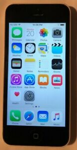 Apple iPhone 5c 16GB White (Unlocked) A1532 GSM Fast Shipping Very Good