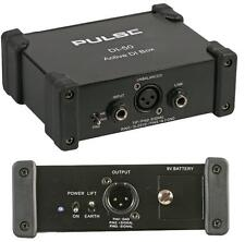 Pulse Active DI Box DI-50 Guitar Keyboard Metal Direct Injection Band PA System