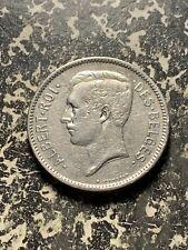 1931 Belgium 5 Francs Lot#Q876