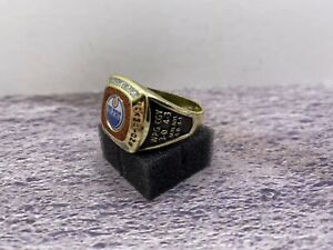 🏒Edmonton Oilers Molson Canadian NHL Stanley Cup Ring