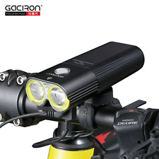 GACIRON 1600 LM Cycling Headlight Bike Front Light USB Rechargeable Flashlight