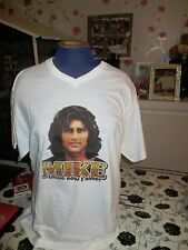 Mike Brant  T-shirt blanc   taille XL fin de stock
