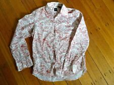 Vintage Hugo Boss Men's Shirt. Medium. Floral