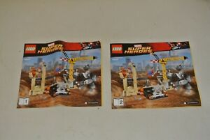 LEGO Super Heroes: Instructions Manual - Set 76037 Rhino And Sandman