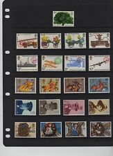 GB 1974 Commemorative Year set Unmounted Mint