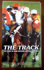 2 X VHS VIDEO TAPE SET THE TRACK Australian Horse Racing History Documentary