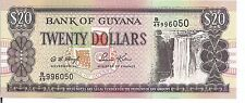 GUYANA, $20, ND(1996), UNC