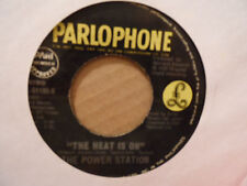 """The Power Station Some Like It Hot 7"""" 45 Record PAL-61180 PHILIPPINES Pressing"""