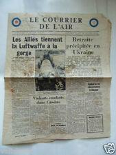 TRACT GB 2ème GM : LE COURRIER DE L'AIR 16 MARS 1944 / RAF / VOIR AUTRES TRACTS