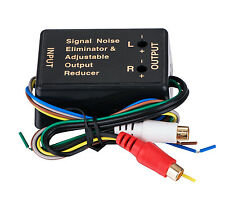 2CH HI / LOW LEVEL CONVERTER Convert High Level Speaker Output to RCA Line Level