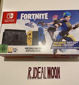Nintendo Switch Fortnite Wildcat Bundle Limited Edition