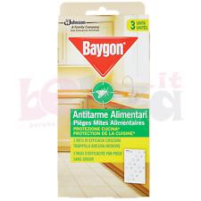 Baygon Antitarme Alimentari Protezione Cucina - 3pz