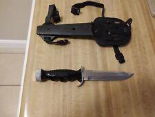 "New listing Dacor Divers Knife - Solingen Germany - 7"" Blade W/Sheath"