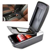 Arm Rest Armrest Centre Console Storage Box For Ford Fiesta Mk7 09-17
