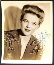 WINIFRED HEIDT HOLLYWOOD MOVIE STAR ACTOR AUTOGRAPHED PHOTOGRAPH