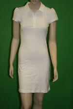 PETIT BATEAU Women's White Short Sleeve Polo Dress 77996 Sz 18 Large NEW $90