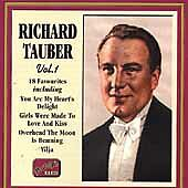 Richard Tauber: Favourites, Vol. 1 Franz Doelle, Richard Heuberger, Walter Jurm