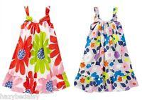 Mini Boden girls cotton flower print sun / beach dress  2 3 4 5 6 7 8 9 10