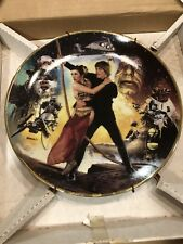 Star Wars Return of the Jedi Hamilton by Morgan Plate Limited Collector Movie