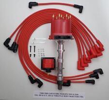 88-95 CHEVY GMC PICKUPS 1500 2500 5.7L 350 TBI DISTRIBUTOR + PLUG WIRES + COIL