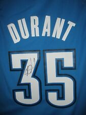 aced23511fc SIGNED KEVIN DURANT NBA SWINGMAN OKLAHOMA CITY THUNDER JERSEY AUTOGRAPHED  Warrio