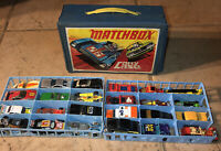 Vintage  Hot Wheels Ertl Kenner Yatming Matchbox Car Lot (31) W/case