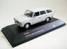 1/43 Ixo/ist Fiat Polski 125p familiar blanco 1973 ist 082