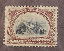 Scott 298 - 8 Cents Pan American - Used - Nice Stamp - SCV - $50.00
