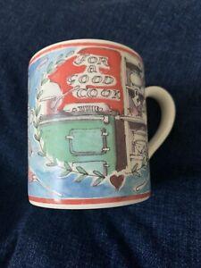 Matthew Rice - For a Good Cook 1/2 pint coffee mug (for Emma Bridgewater) Aga