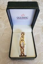 OLYMPIC SWISS WATCH Mother Of Pearl Dial, Swiss Quality 🧡