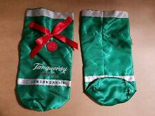 2x Tanqueray Imported London Dry Gin Liquor Gift Bag