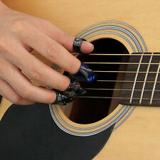 Easy to use 3 Finger Picks + 1 Thumb Pick Plectrums Guitar Plastic Protect