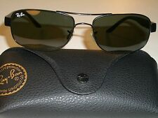 Ray-Ban RB3273 006 57 17mm Deslumbrante Lisa G15 Gafas Lente de Sol Negras Súper