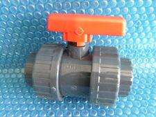 PVC 2-Wege-Kugelhahn D 50 mm