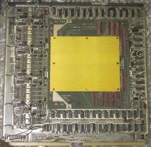 """ENTREX / NIXDORF COMPUTER 8K core memory board & stack 480 16 bit 15"""" 1970's"""