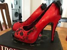 Iron Fist High Heel Ladies American Nightmare Platform Red US7 IFL0767