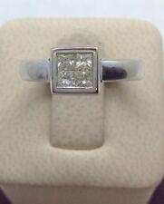 14ktwhite Gold Princess Cut Diamond Ring