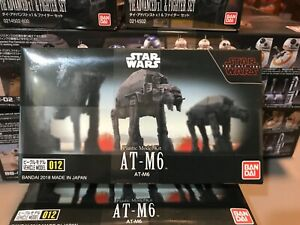 BANDAI Star Wars 012 AT-M6 Walker The Last Jedi Sealed and New!