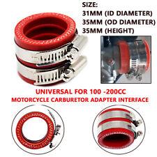 Universal Motorcycle Carburetor Adapter Interface 21mm 24mm 26mm PE 28mm 30mm