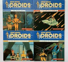 Star Wars Droids Cartoon 1987 Picture Books Complete Set Of 4 With Vlix Images