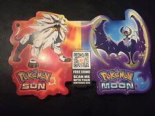 Pokémon Sun & Moon Official Nintendo Shelf Card. Rare. *LAST ONE*