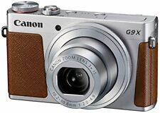 Canon DigitalCamera Powershot G9X Silver Optical3.0 TimesRhythm 1.0Inch