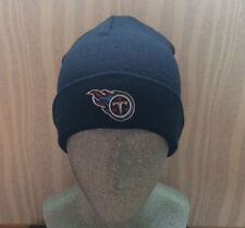 Tennessee Titans Embroidered Knit Beanie Hat Dark Blue Color
