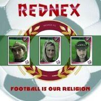 "REDNEX ""FOOTBALL IS OUR RELIGION"" CD SINGLE + VIDEO NEU"