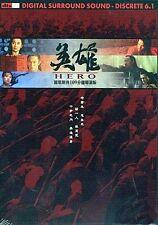 "Jet Li ""Hero"" Tony Leung Chiu Wai Director's Cut HK Action Version Region 3 DVD"