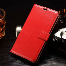 Luxury Leather Magnetic Flip Card Wallet Cover Case For Various Mobile Phones
